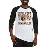 Whisky Dick's Saloon Baseball Jersey