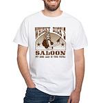 Whisky Dick's Saloon White T-Shirt