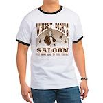 Whisky Dick's Saloon Ringer T
