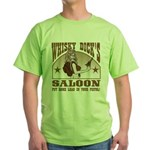 Whisky Dick's Saloon Green T-Shirt