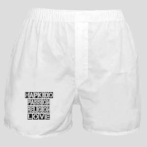 Hapkido Passion Religion Love Boxer Shorts