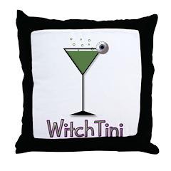 Witchtini Throw Pillow