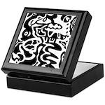 Fish abstract Keepsake Box