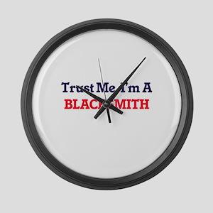 Trust me, I'm a Blacksmith Large Wall Clock