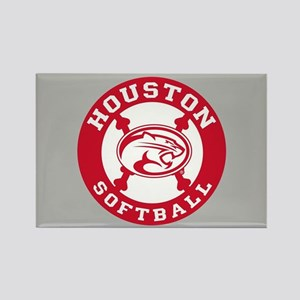 Houston Softball Rectangle Magnet