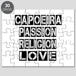 Capoeira Passion Religion Love Puzzle