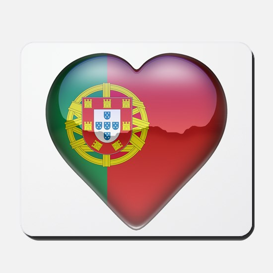 Portugal Heart Mousepad