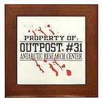 Outpost #31 Framed Tile
