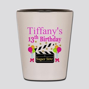 PERSONALIZED 13TH Shot Glass