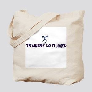 TRAINERS DO IT HARD Tote Bag