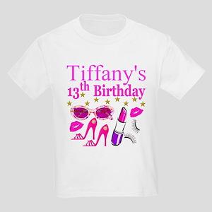 PERSONALIZED 13TH Kids Light T-Shirt