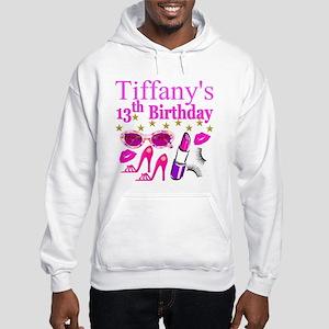 PERSONALIZED 13TH Hooded Sweatshirt