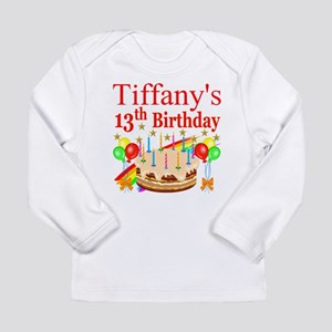 PERSONALIZED 13TH Long Sleeve Infant T-Shirt