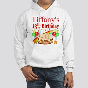 PERSONALIZED 13TH Hooded Sweatshirt