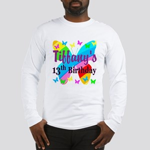 PERSONALIZED 13TH Long Sleeve T-Shirt