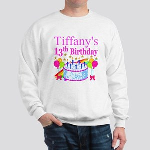 PERSONALIZED 13TH Sweatshirt