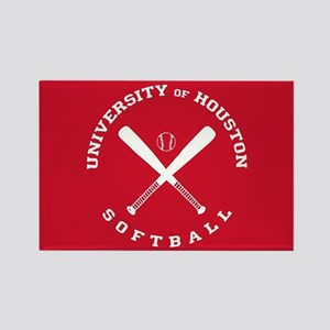 University of Houston Softball Rectangle Magnet