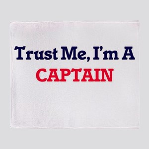 Trust me, I'm a Captain Throw Blanket