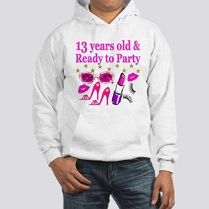 13TH BIRTHDAY Hooded Sweatshirt