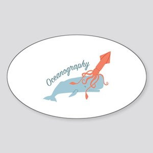 Oceanography Sticker
