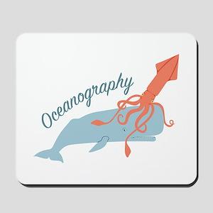 Oceanography Mousepad