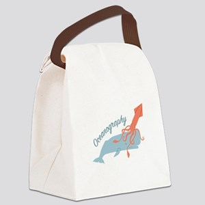 Oceanography Canvas Lunch Bag