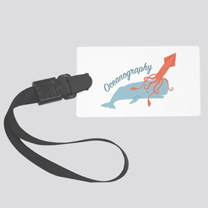 Oceanography Luggage Tag
