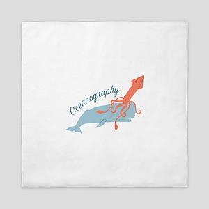 Oceanography Queen Duvet