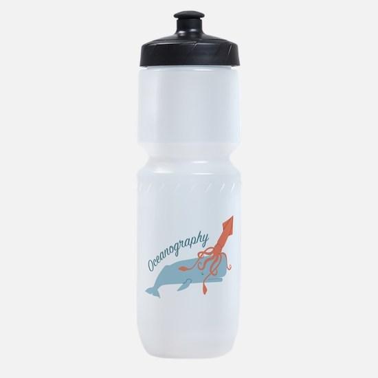 Oceanography Sports Bottle