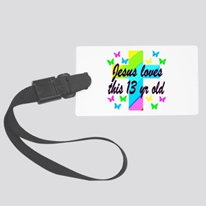 CHRISTIAN 13TH Large Luggage Tag