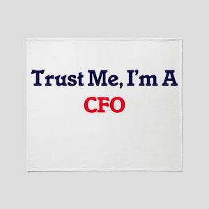 Trust me, I'm a Cfo Throw Blanket