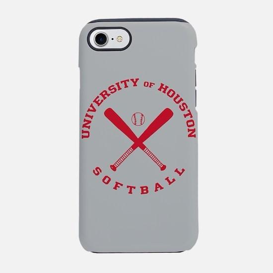 University of Houston Softba iPhone 8/7 Tough Case