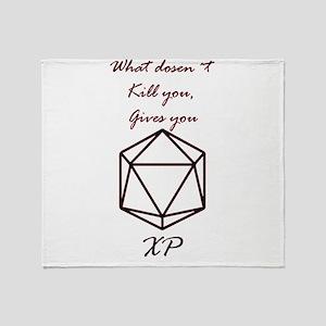 RPG XP Throw Blanket