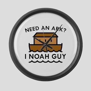 Need An Ark? Large Wall Clock