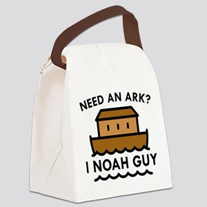 Need An Ark? Canvas Lunch Bag