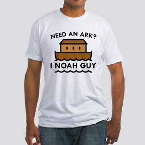Need An Ark? Fitted T-Shirt
