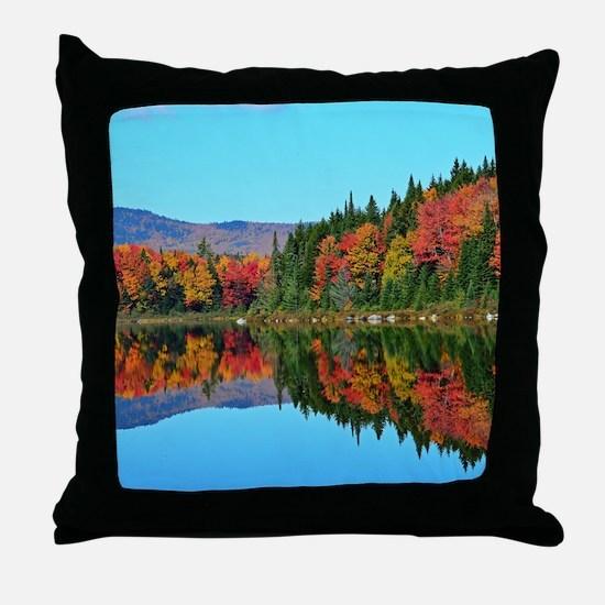 Misery pond Throw Pillow