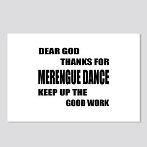Some Learn Merengue dance Postcards (Package of 8)