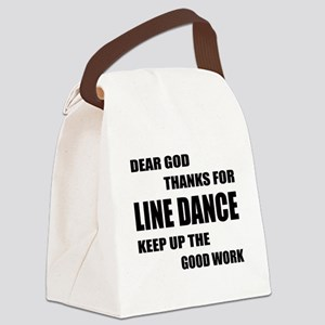 Some Learn Line dance Canvas Lunch Bag