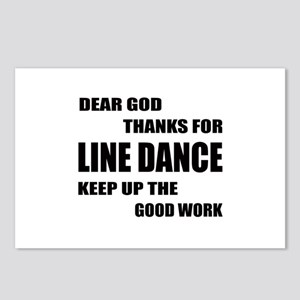 Some Learn Line dance Postcards (Package of 8)