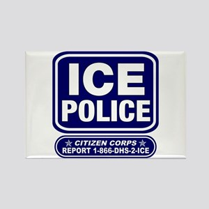 ICE Police Citizen Corps Rectangle Magnet