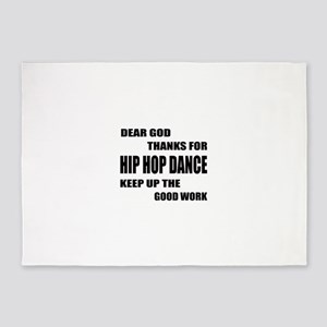 Some Learn Hip Hop dance 5'x7'Area Rug
