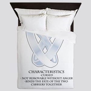RPG - rings of marriage Queen Duvet