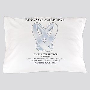 RPG - rings of marriage Pillow Case