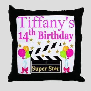 14TH BIRTHDAY Throw Pillow