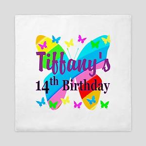 14TH BIRTHDAY Queen Duvet