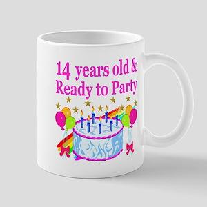 14 YEARS OLD Mug