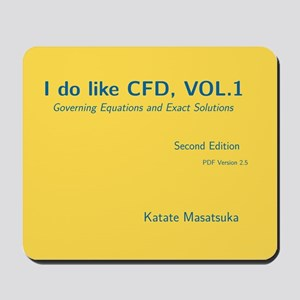 I Do Like Cfd, Vol.1 Mousepad