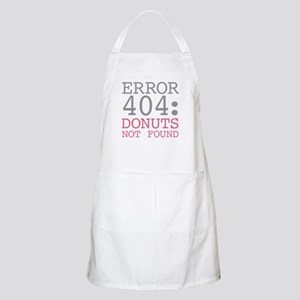 Error 404 Donuts Light Apron