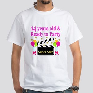14 YEARS OLD White T-Shirt